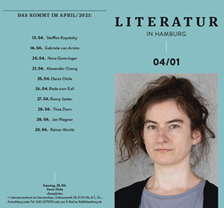 Literatur in Hamburg, digitale Printusgabe, März 2021