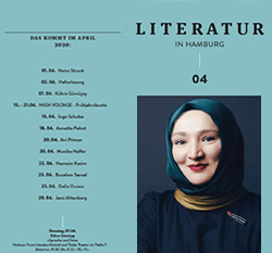 Literatur in Hamburg, digitale Ausgabe, April 2020