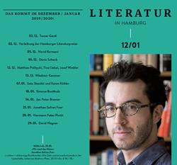 Literatur in Hamburg, digitale Ausgabe, Dezember 2019 und Januar 2020