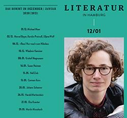 Literatur in Hamburg, digitale Printusgabe, Dezember und Januar 2020/2021