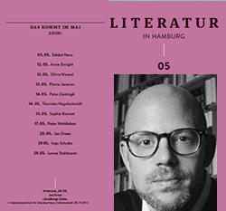 Literatur in Hamburg, digitale Ausgabe, April 2020