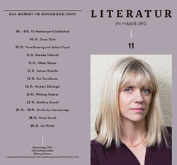 Literatur in Hamburg, digitale Ausgabe, November 2019